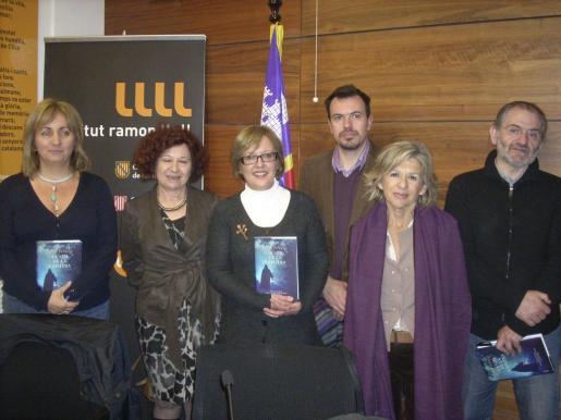 Fanny Tur, Aina Radó, Rosa Planas, Biel Cerdá, Bárbara Galmés y Jaume Mateu.