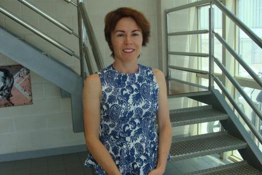 Raquel Riveros preside la Asociación de Paraguayos desde hace dos meses.