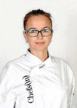Imagen de la chef, Marga Coll.