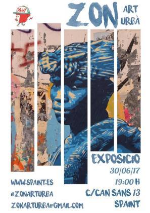 Spaint acoge la primera exposición 'interior' del artista urbano Zon.