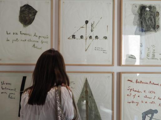 Algunas de las obras que se pueden contemplar en el MACE hasta el 8 de octubre.