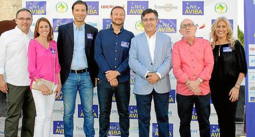 Fabián Buezas, María Llopis, Carlos di Mario, Leandro Satústegui, Toni Abrines, Juan Campos y Charo di Benedetto.