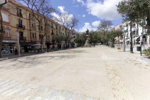 Imagen de archivo del paseo Vara de Rey.