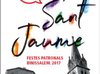 Sant Jaume 2017, fiestas patronales en Binissalem