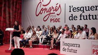 Una imagen del 13º Congreso del PSIB.
