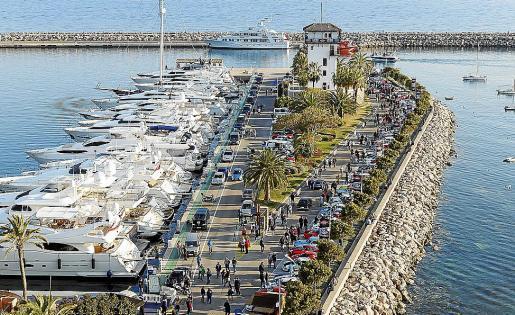 Vista general de Punta Portals, donde el concesionario invertirá 27,6 millones de euros.