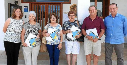 Los convenios se formalizaron ayer en el Consell de Formentera.