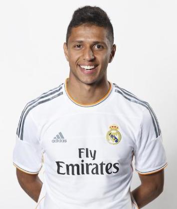 Imagen de Bruno Vinicius con la camiseta del Real Madrid, equipo en el que jugó de 2010 a 2014 en Segunda División B.
