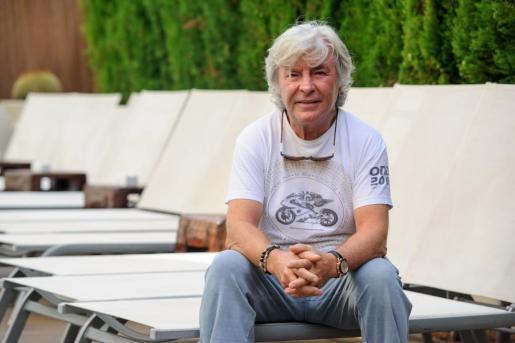 Imagen de archivo de Ángel Nieto en Ibiza.