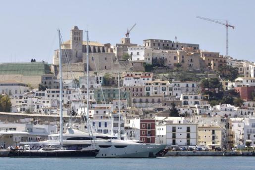 Vista general del puerto deportivo de Ibiza Magna.