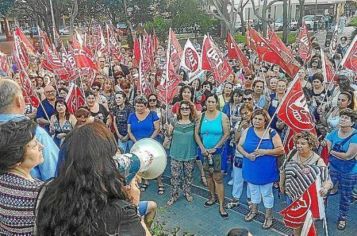 Imagen de la concentración celebrada el año pasado.