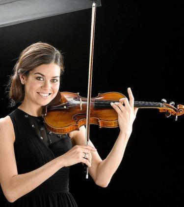 La violinista Cristina Prats.