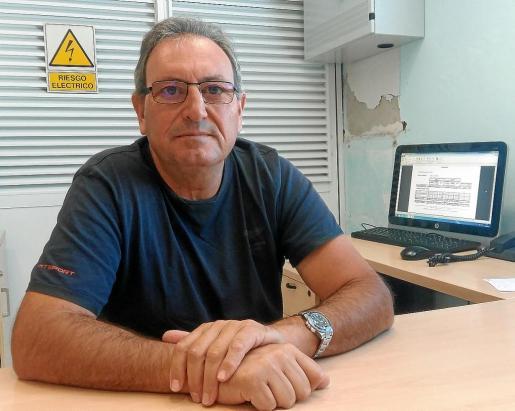 Vicent Tur es el responsable de la Federación Hotelera de las Pitiusas en Formentera.
