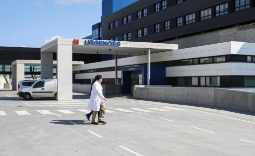 Imagen de la zona de Urgencias del Hospital de Can Misses.