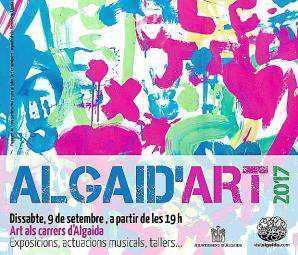 Ocho artistas pitiusos participan en la nueva edición de Algaid'art.