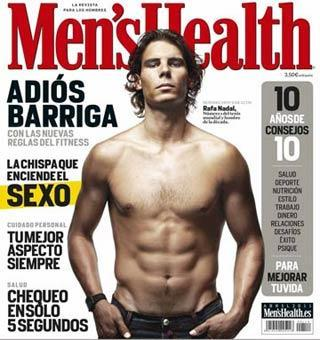 Portada de Men's Health de abril.