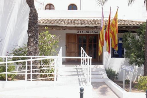 Imagen del cuartel de la Policía Local de Sant Josep.