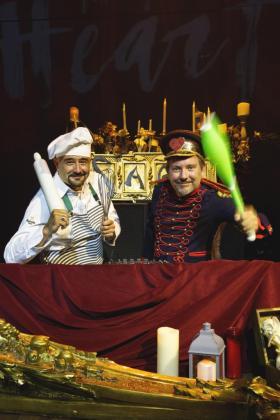 José Corraliza y Albert Adrià se reinventan cada año.