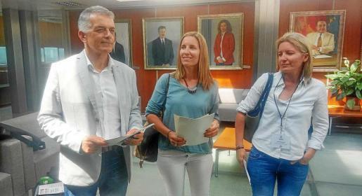 Vicent Torres 'Benet', durante la presentación el pasado mes de mayo de los 'informadores' de alojamientos turísticos ilegales.