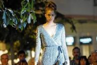 La colección de trajes de noche que presentó Marisa Cela en Ibiza fue espectacular.