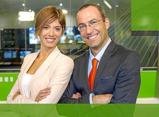 El tàndem formado por Núria Arias y Roger Riera serán las caras de los informativos.