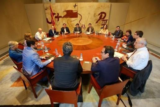Reunión extraordinaria del Consell Executiu de la Generalitat.