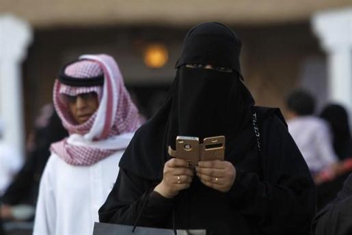 Mujer en Arabia Saudí.