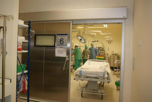 Imagen de archivo de unos quirófanos del hospital Can Misses.
