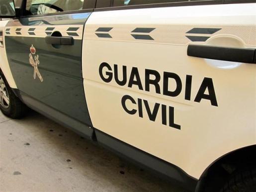 Coche de la Guardia Civil.