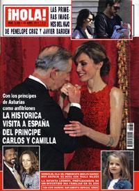 En la parte superior, las primeras imágenes de Penélope Cruz y Javier Bardem.