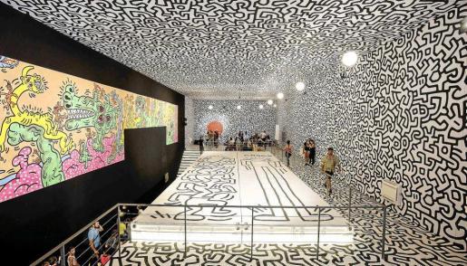 La exposición de Keith Haring inauguró el pasado 1 de julio.