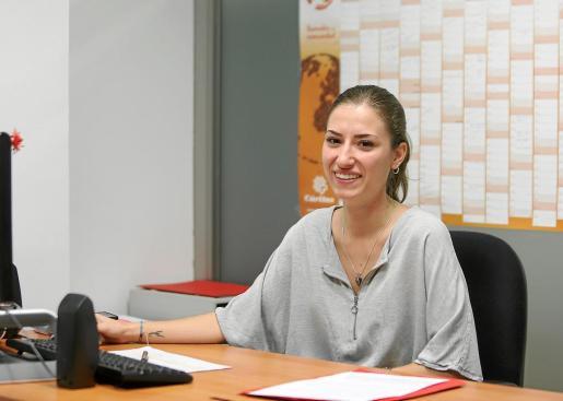 Nieves Fuentes, orientadora laboral de Cáritas de Ibiza.