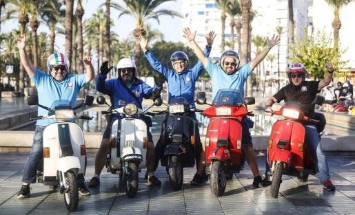 Unas 80 motocicletas clásicas recorrerán 300 kilómetros este fin de semana por carreteras ibicencas