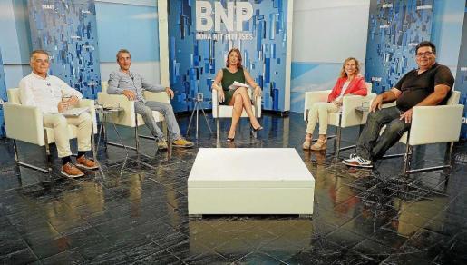 El debate contó con la participación de Vicent Torres, Gianandrea di Terlizzi, Carmen Ferrer y Jesús Rumbo.