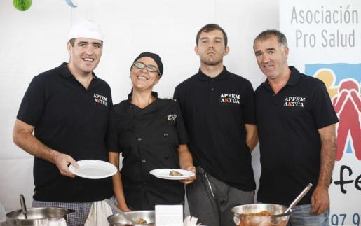El servicio de catering sirvió el almuerzo de la inauguración.