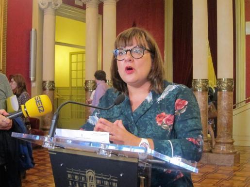 La coportavoz de MÉS per Mallorca en el Parlament, Bel Busquets.