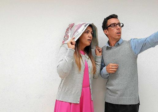 Mercè Barreda y Miguel Ramón, 'The Rocky Horror Picture Show' se presenta mañana en el Auditorio Cas Serres.