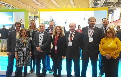 Los representantes de la Federación Hotelera de Mallorca y empresarios han criticado la ecotasa durante toda la feria.