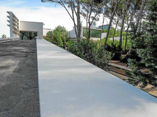 Imagen del actual Palau de Congressos de Ibiza situado en Santa Eulària.