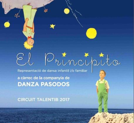 Cartel de 'El Principito', una adaptación de la obra clásica de Antoine de Saint-Exupéry a cargo de la compañía de Danza Pasodos.