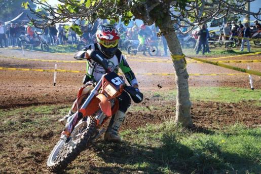 Jordi Roig, del Motoclub de Formentera i Eivissa, encabeza la competición en la división B.