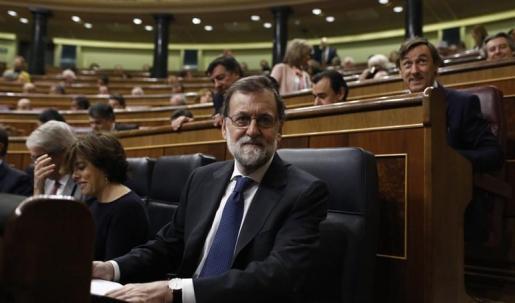 Imagen de archivo del jefe del Ejecutivo, en el Congreso de los Diputados.