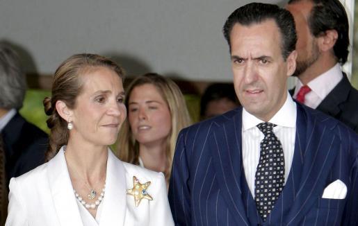 Fotografía de archivo de la Infanta Elena y Jaime de Marichalar.