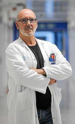 Alfonso López, en su trabajo en Can Misses.