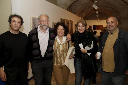 Michael Howard, Joan Carrero, Susana Volosín, María Blanch y Alfonso Tabernero.