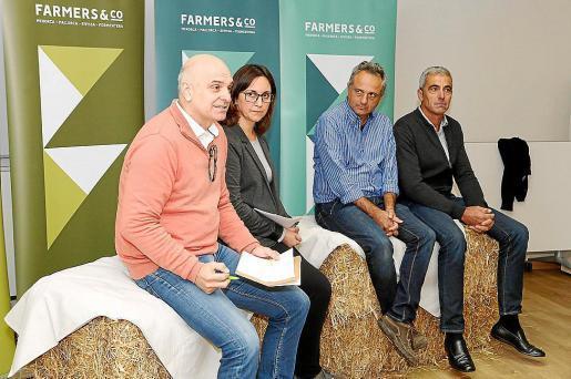 Tolo Mercadal, Antònia Bosch, Miquel Gual y Tomeu Pons Cardona presentaron los objetivos.