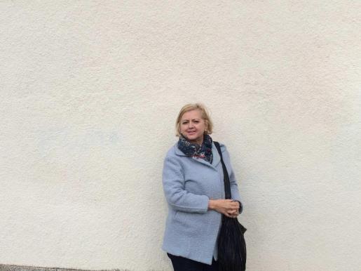 Cecilia Galbis preside la Asociación de vecinos sa Riba desde que se creó hace diez años.