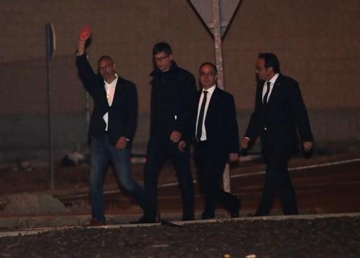 La Fiscalía se opone a que los seis exconsejeros catalanes excarcelados vuelvan a prisión.