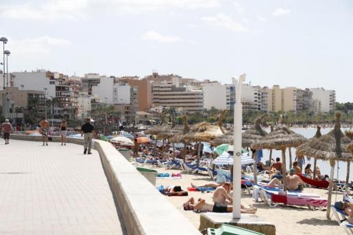Vista de la Platja de Palma.
