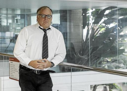 Eduard Clavell, abogado del servicio de orientación jurídica gratuita del Consell